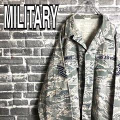 "Thumbnail of ""U.S.AIR FORCE ミリタリージャケットカモフラ米空軍カモシャツ k12"""