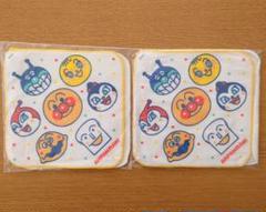 "Thumbnail of ""アンパンマン タオルハンカチ4枚 幼稚園 保育園 幼児 子供 ハンドタオル"""
