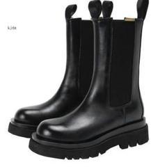 """Thumbnail of """"秋と冬のブーツ、ハイヒール,エナメルの長靴,ファッショナブルでハイエンド,レ6"""""""