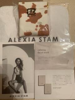 "Thumbnail of ""alexiastamノベルティハンカチ♡ミニケース favsサンプル♡クーポン付"""