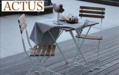 "Thumbnail of ""ACTUS シアン テーブル & チェア セット"""