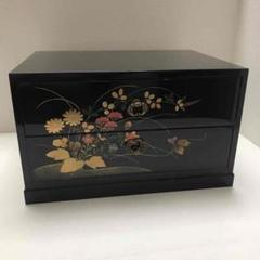 """Thumbnail of """"高級 木製 漆器 2段収納 ボックス"""""""