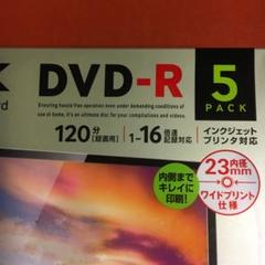 "Thumbnail of ""DVD-R TDK(DR120DPWC5UE)"""