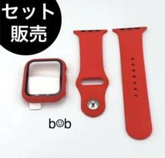 "Thumbnail of ""Apple watch アップルウォッチ カバーケース+バンド ベルト レッド"""