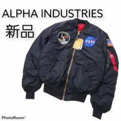 "Thumbnail of ""新品 アルファインダストリーズ フライトジャケット MA-1 NASA ワッペン"""