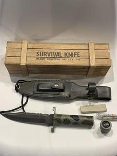 "Thumbnail of ""SURVIVAL KNIFE 1986年 本格サバイバルナイフ 未使用 美品"""