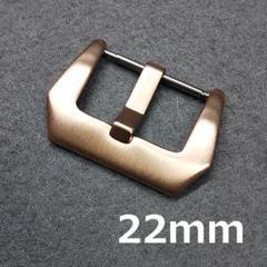 """Thumbnail of """"時計バックル フィッシュテール型 尾錠幅 22mm ピンクゴールド"""""""