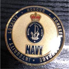 "Thumbnail of ""チャレンジコイン  オーストラリア 海軍"""
