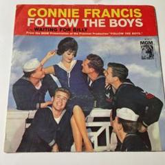 "Thumbnail of ""Connie Francis -- Follow The Boys US 7″"""