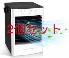 "Thumbnail of ""2021最新版 冷風扇 扇風機 USB給電式 卓上冷風機 ミニクーラー 小型冷却"""