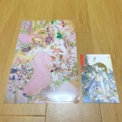 "Thumbnail of ""天野喜孝 ファンタジーアート展限定 クリアファイル ポストカード"""