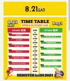 "Thumbnail of ""モンバス2021 1日目✖︎1枚"""