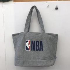 "Thumbnail of ""NBA バスケ ハンドバッグ トートバッグ ミニトート グレー"""