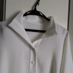 """Thumbnail of """"DAMA*の真っ白いシャツです。たっぷり良い生地をつかっています。"""""""