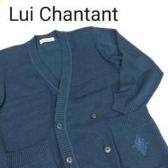 "Thumbnail of ""Lui Chantant ルイ シャンタン カーディガン ウール製 青 サイズL"""