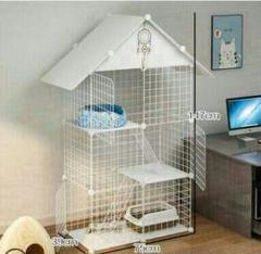"Thumbnail of ""猫籠別荘家庭用猫舎清倉は猫砂盆超自由空間猫ケージを置くことができます9"""