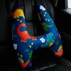 "Thumbnail of ""シートベルトカバー 可愛い 子供シートベルトパット クッション 高さ調節 多機"""