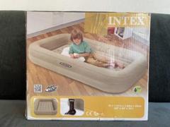 "Thumbnail of ""INTEX インテックス エアーベッド&エアパンプ 子供用"""