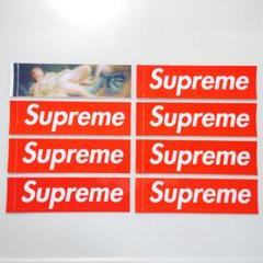 "Thumbnail of ""シュプリーム ステッカー 8枚 Box Logo スワン 白鳥 19SS 正規品"""