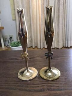 "Thumbnail of ""一輪挿し花瓶 2個セット ゴールド"""