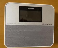 "Thumbnail of ""東芝 SD/USB/CDクロックラジオ ホワイト TY-CR30(W) 中古"""