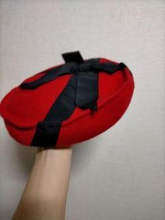 "Thumbnail of ""レア!80s90s デザインベレー帽 プリンセス帽子 UK PUNK MODS"""