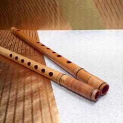 "Thumbnail of ""しの笛 よこ笛 和楽器 管楽器 二本セット"""