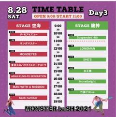 "Thumbnail of ""モンスターバッシュ 8月28日 2枚セット"""