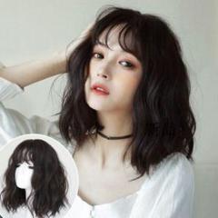 """Thumbnail of """"韓国風かつら ロングカール ショートヘア  自然 サラサラ,上質な商品,Lo5"""""""