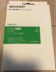 "Thumbnail of ""シャープ 中国語音声対応コンテンツカード PW-CA30"""