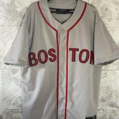 """Thumbnail of """"レッドソックス  MLB ゲームシャツ ユニフォーム グレー 2XLベースボール"""""""