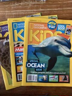 """Thumbnail of """"National Geographic kids 5/6月号 8月号おまけ"""""""