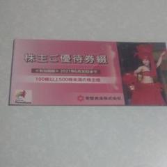 "Thumbnail of ""常磐興産株主優待券"""
