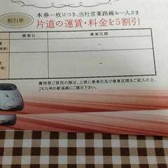 """Thumbnail of """"JR九州株主優待券 2枚"""""""