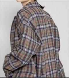 "Thumbnail of ""NYUZELESS/チェック柄 BIG CHESTER DOWN COAT"""
