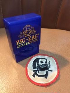 "Thumbnail of ""ZIGZAG 2点セット ヴィンテージワッペン  シガレットケース"""