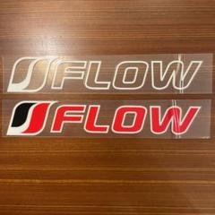 "Thumbnail of ""FLOW ステッカーシール2枚"""
