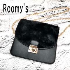 """Thumbnail of """"✨美品 Roomy's ルーミィーズ レディース バッグ ブラック"""""""