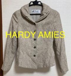 "Thumbnail of ""HARDY AMIES ふんわり襟 シルク混 ツイード ジャケット"""