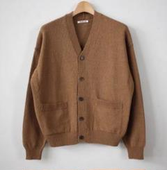 "Thumbnail of ""オーラリー CORKSCREW YARN KNIT CARDIGAN"""