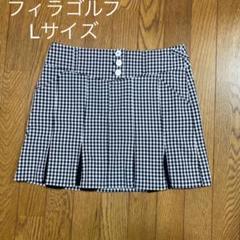 "Thumbnail of ""フィラゴルフ♪チェック柄ゴルフスカート"""