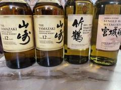 """Thumbnail of """"サントリー 山崎12年  竹鶴 宮城峡 まとめ売り セット"""""""