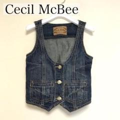 """Thumbnail of """"Cecil McBee セシルマクビー デニムベスト"""""""