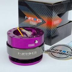 "Thumbnail of ""NRG クイックリリース パープル 紫 SRK-200PP-TI Gen2.0"""