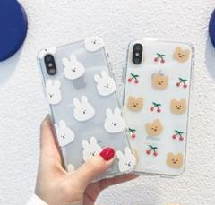 "Thumbnail of ""くま スマホケース 韓国 iPhoneケース 7/8/XS/XR/11/12"""