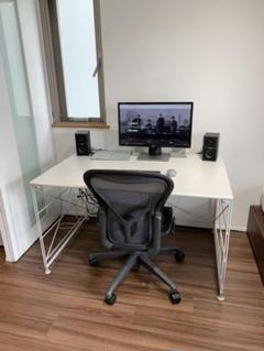 "Thumbnail of ""無印良品のパソコンデスク、テーブル、机"""