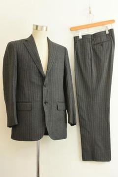 "Thumbnail of ""B1060 J.PRESS ジェイプレス メンズ スーツ セットアップ グレー"""