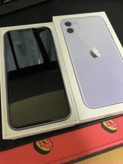 "Thumbnail of ""iPhone11 パープル 128GB 本体 バッテリー容量98%"""