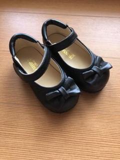 "Thumbnail of ""フォーマルシューズ 女の子 フォーマル靴 リボン 靴 14cm ほぼ 新品"""