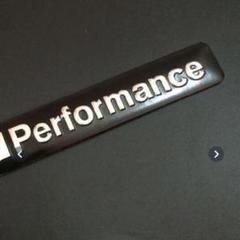 """Thumbnail of """"BMW  3Dアルミステッカー M Performance ブラック"""""""